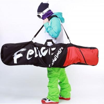 Чехол для сноуборда Felice Deck Bag Red 152 см красный/черный