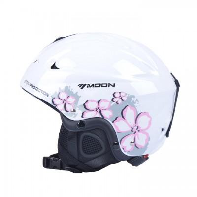 Шлем горнолыжный MOON SGW женский белый