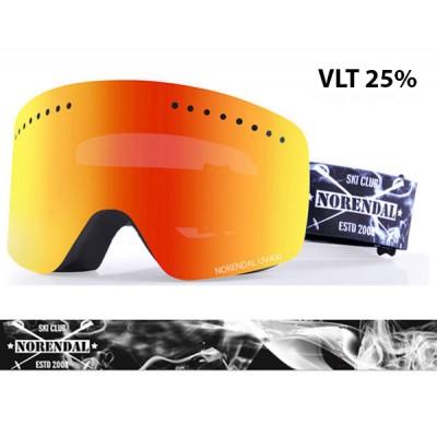 Очки сноубордические NORENDAL KZ GOLD/BLACK золотая линза