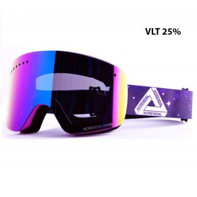 Очки сноубордические NORENDAL KZ VIOLET фиолетовая линза