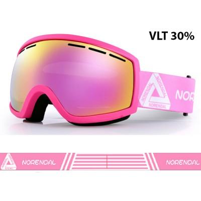 Очки горнолыжные NORENDAL SY PINK розовые