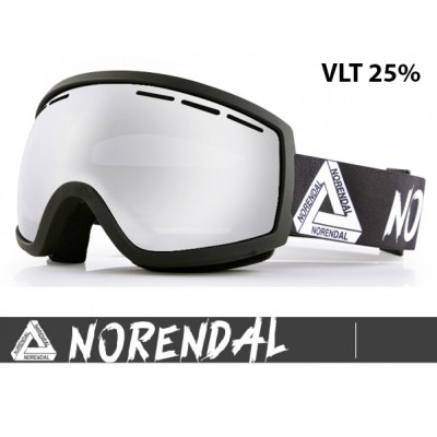 Очки горнолыжные NORENDAL SY SILVER/BLACK серебро