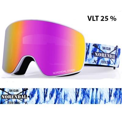 Очки горнолыжные NORENDAL ZW VIOLET фиолетовый
