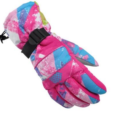 Перчатки горнолыжные Asfish Pink Ink женские