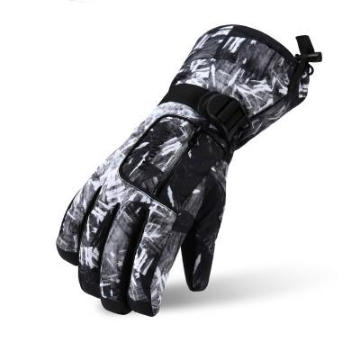 Перчатки горнолыжные Nandn Grey