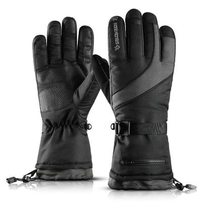 Перчатки сноубордические GO9 TOUCHSCREEN черные