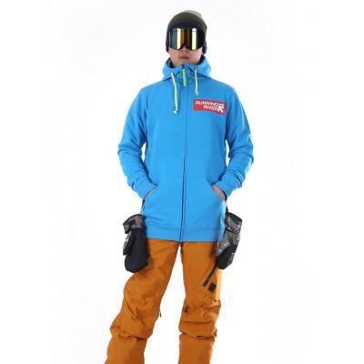 Толстовка сноубордическая RUNNING RIVER голубая
