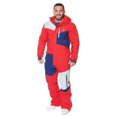 Комбинезон SNOW HEADQUARTER RED мужской красный