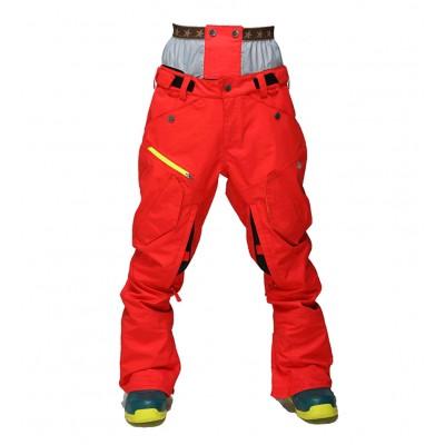 Штаны сноубордические 686 Cargo Pants Red красные