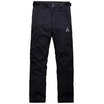 Штаны горнолыжные SnowyOwl Black Pants черные женские