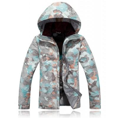 Куртка сноубордическая 686 Brandi Milne женская коричневая