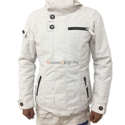 Куртка сноубордическая женская Burton Dream Jacket белый/бежевый