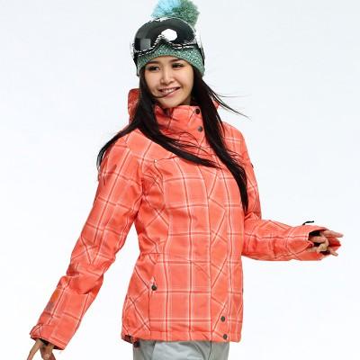 Куртка сноуборд Icepeak 10K оранжевая женская