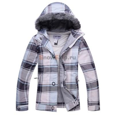 Куртка для сноуборда Sportek женская серая