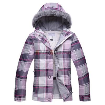 Куртка для сноуборда Sportek женская розовая