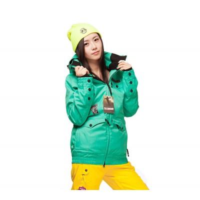 Куртка сноубордическая Technine Lady Jacket светло-зеленая женская