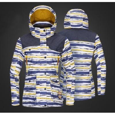 Куртка для сноуборда TOREAD ABSTRACT женская