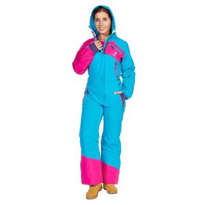 Комбинезон SNOW HEADQUARTER WM BLUE женский голубой