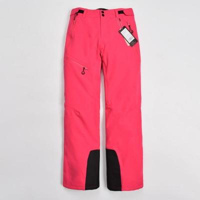 Брюки горнолыжные EVEN&ODD розовые женские