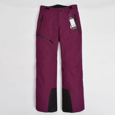 Брюки горнолыжные EVEN&ODD фиолетовые женские